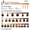 NYX Professional Makeup Total Control Drop Foundation Pale TCDF01 13ml
