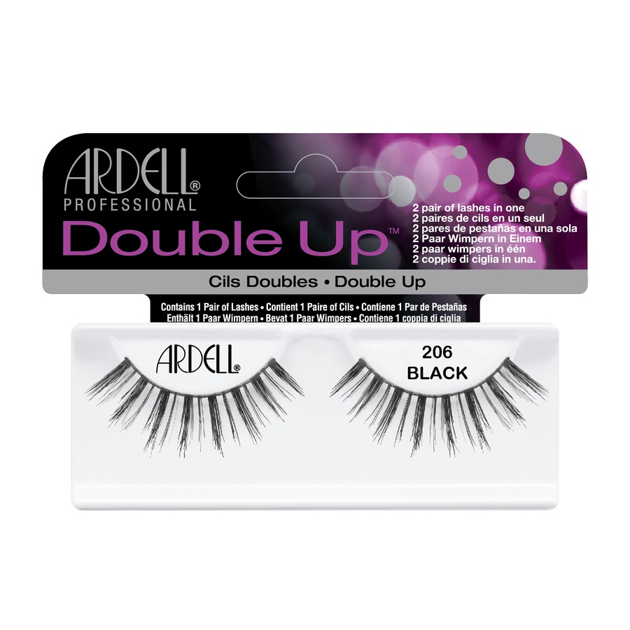 Ardell Double Up Lashes, Black #206