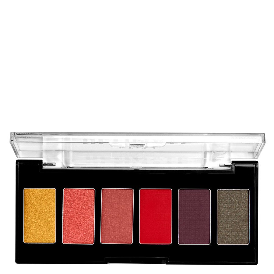 NYX Professional Makeup Ultimate Edit Petite Shadow Palette 7,2g, 03 Phoenix