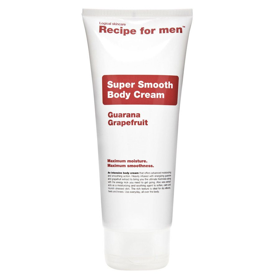 Recipe For Men Super Smooth Body Cream (200 ml)