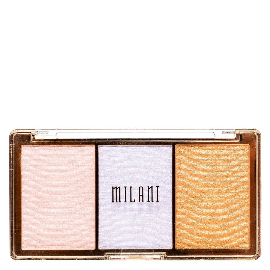 Milani Stellar Lights Highlighter Palette, Holographic Beams