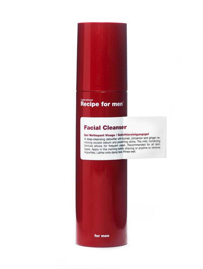 Recipe For Men Facial Cleanser (100 ml)