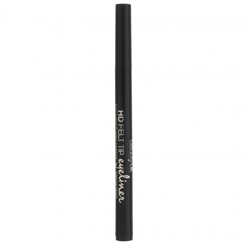 Beauty UK HD Felt Tip Eye Liner, Intense Black
