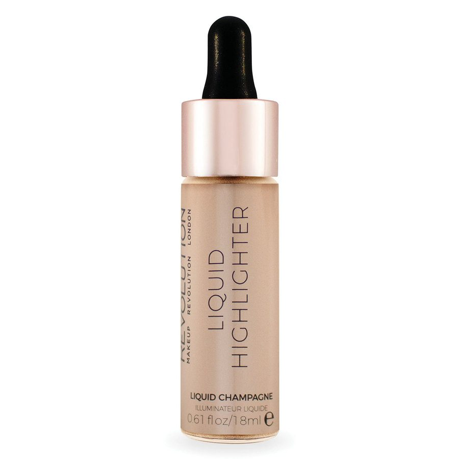 Makeup Revolution Liquid Highlighter Liquid Champagne 18ml
