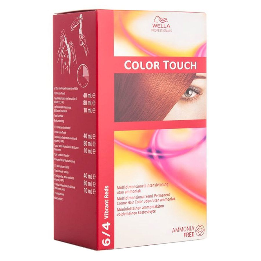 Wella Professionals Color Touch (100 ml), 6/4 Vibrant Red