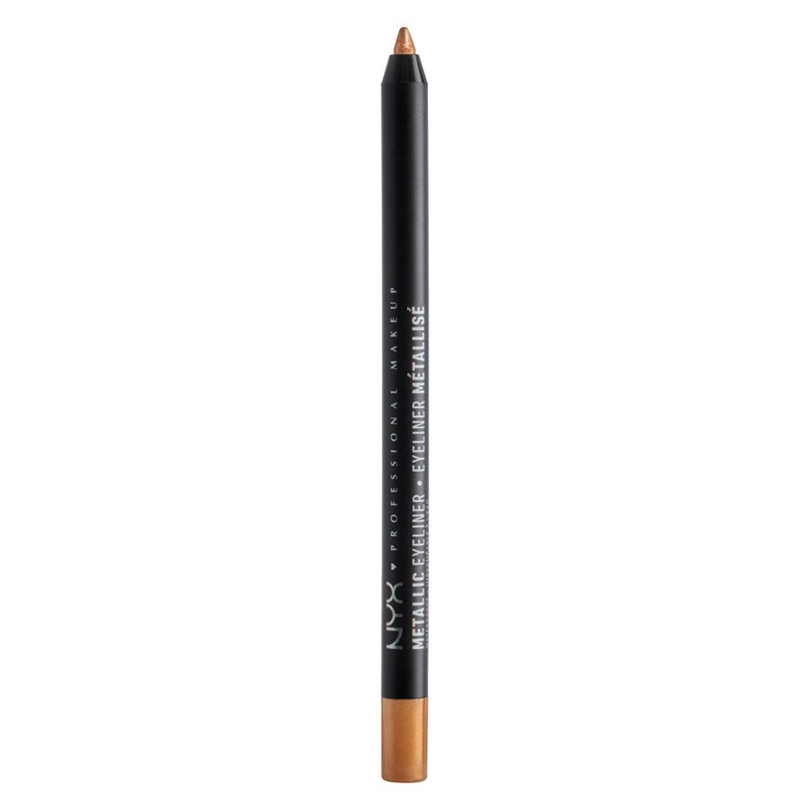 NYX Professional Makeup Metallic Eyeliner, Gold