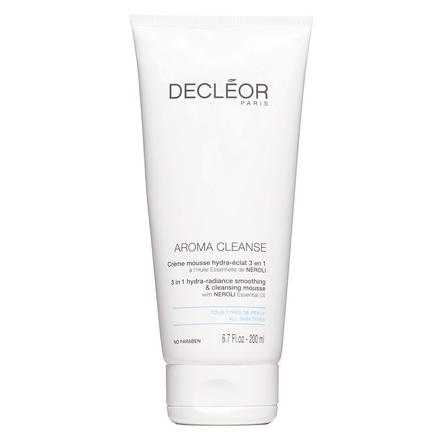 Decléor Aroma Cleanse 3 In 1 Hydra-Radiance Smoothing & Cleansing Mousse (200 ml)