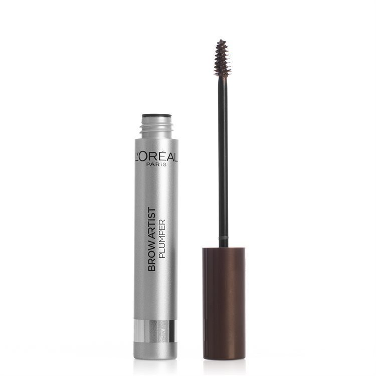 L'Oréal Paris Brow Artist Plump Eyebrow Augenbrauengel, Medium/Dark