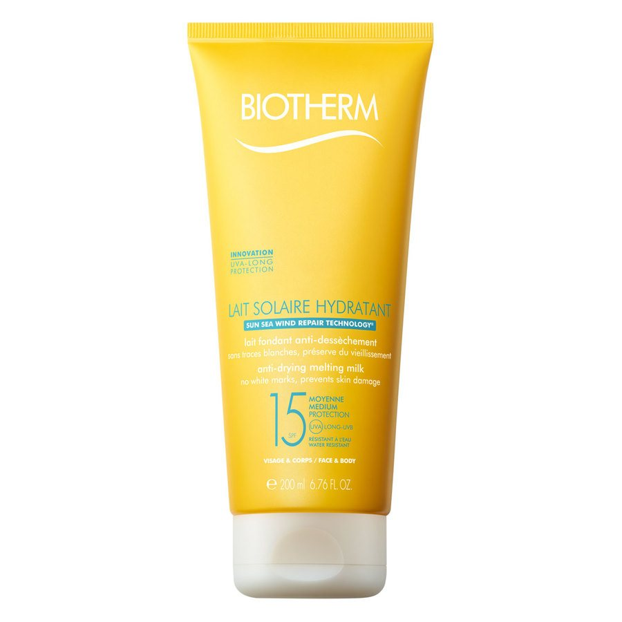 Biotherm Lait Solaire Hydrantant Anti-Drying Melting Milk Sunscreen SPF 15 200ml