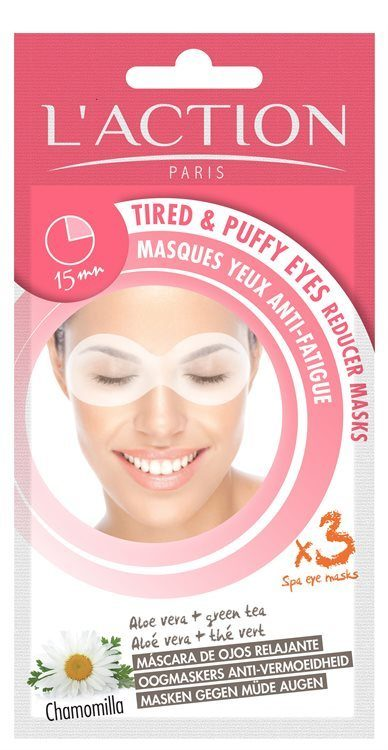 L'Action Paris Tired And Puffy Eyes Reducer Masks Augenmasken (8 g)