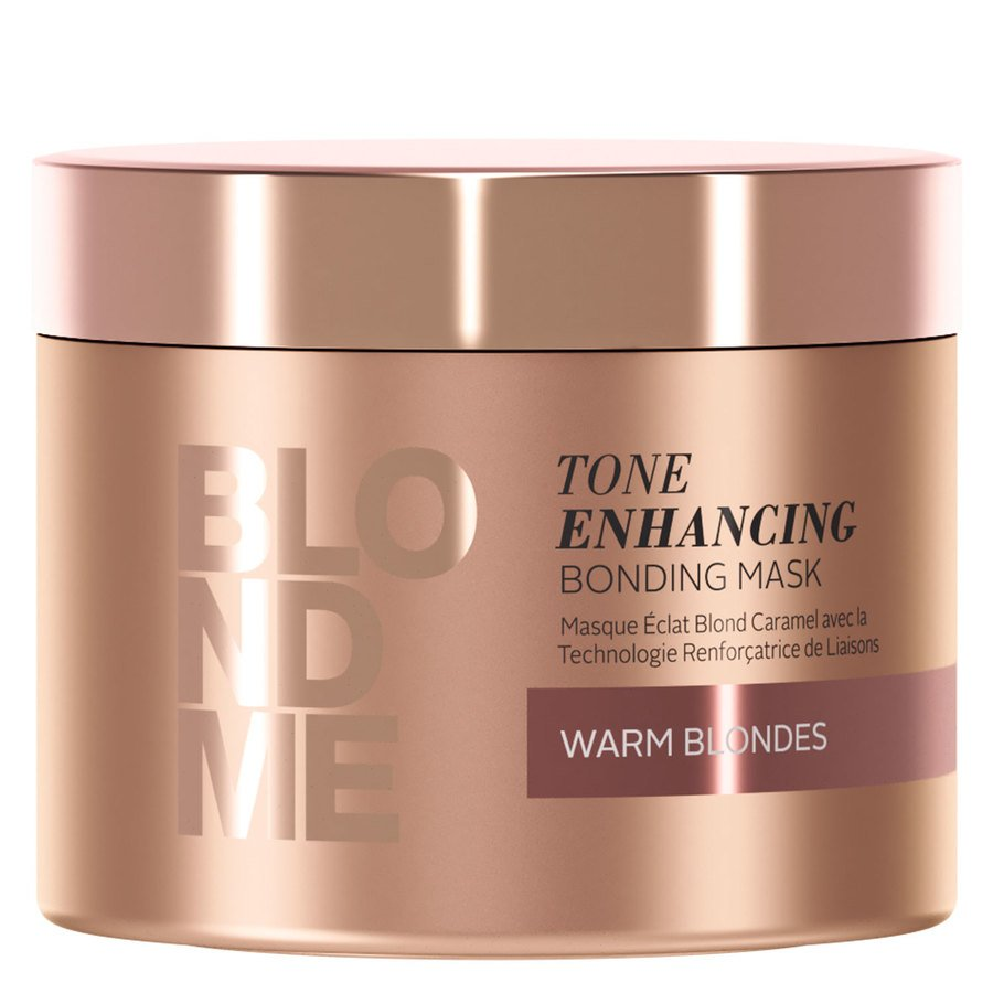 Schwarzkopf Blondme Tone Enhancing Bonding Mask, Warm Blonde (200 ml)