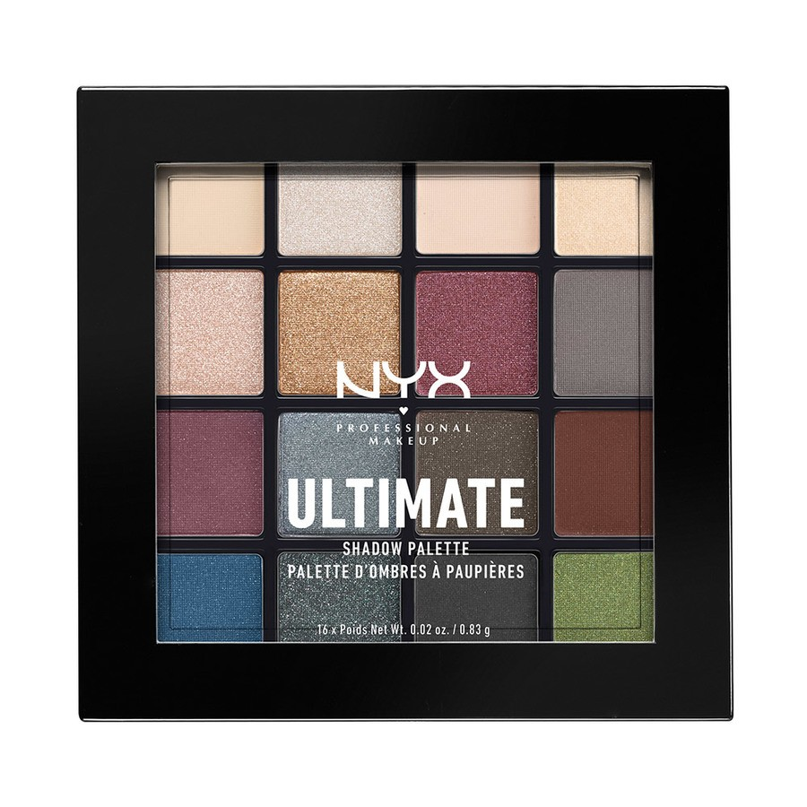 NYX Professional Makeup Ultimate Eyeshadow Palette Smokey & Highlight USP01