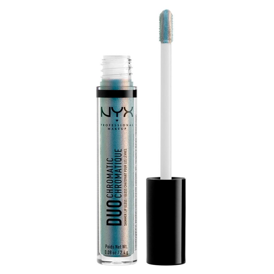 NYX Professional Makeup Duo Chromatic Lip Gloss, Day Club