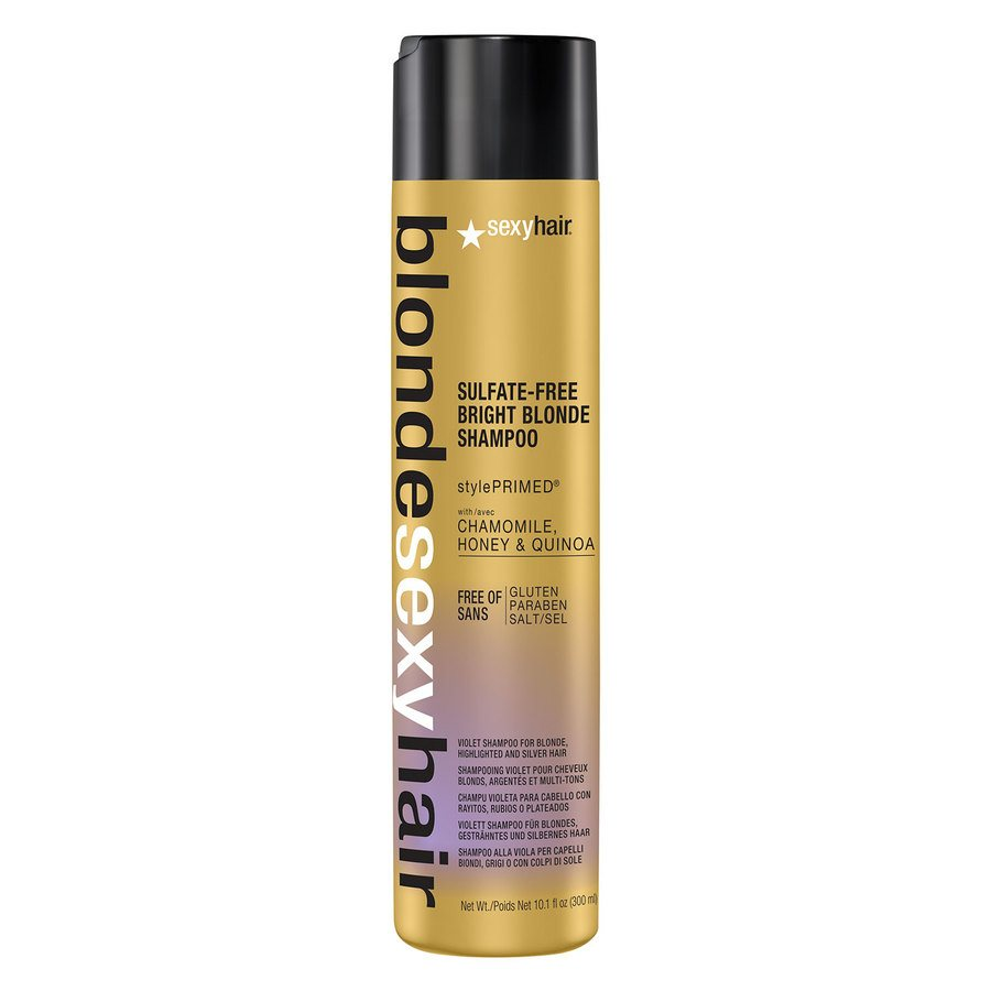 Sexy Hair Bright Blonde Shampoo (300 ml)