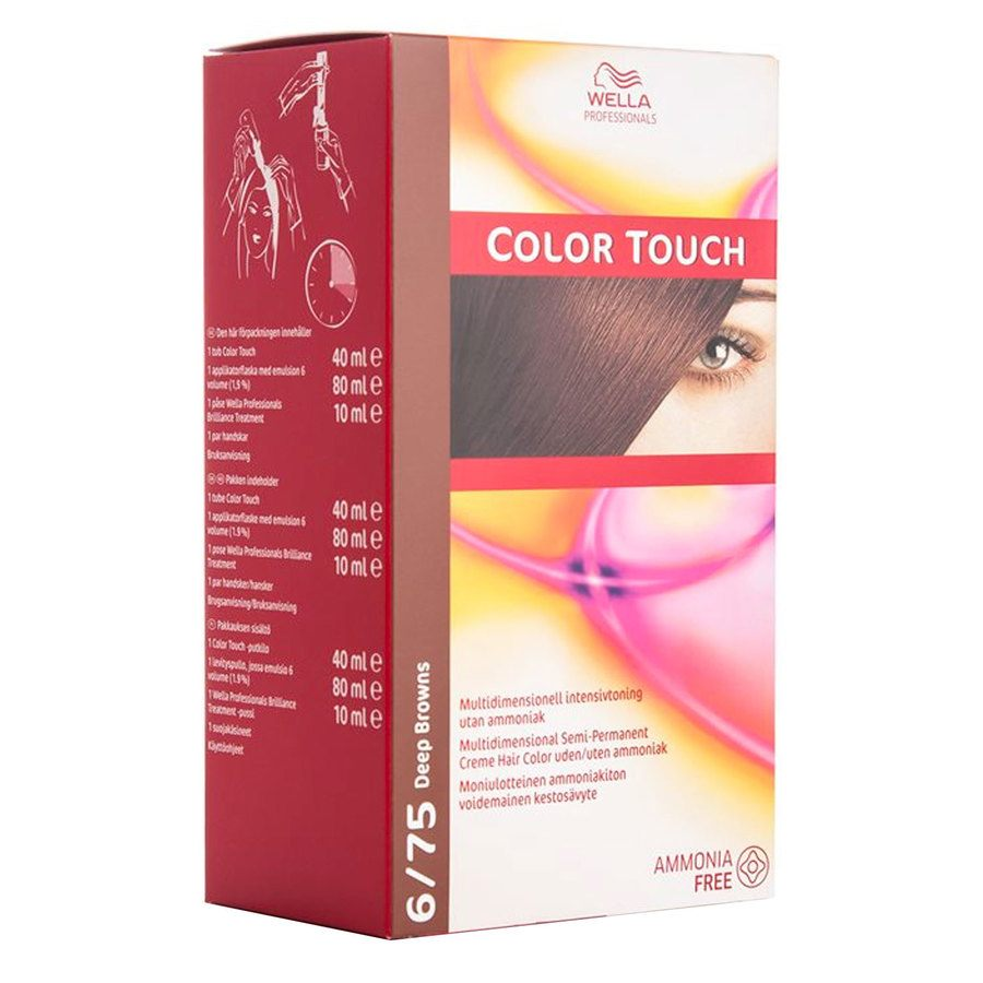 Wella Professionals Color Touch CT OTC (100 ml), 6/75 Deep Brown SCAN