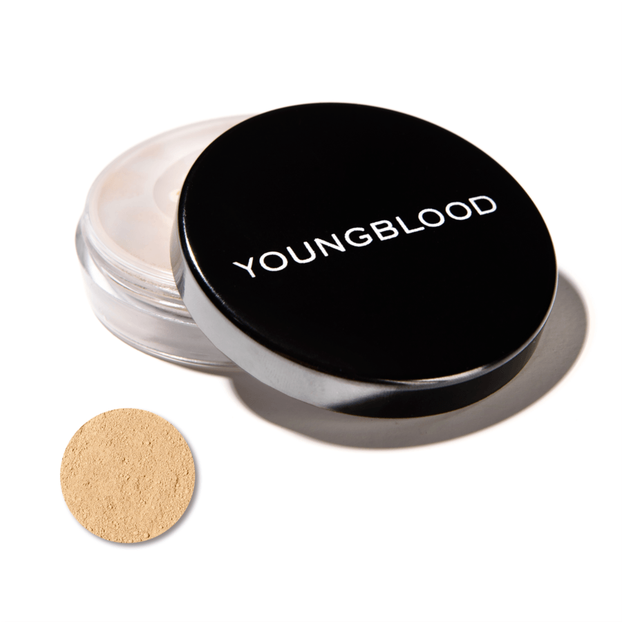 Youngblood Natural Loose Mineral Foundation, Barely Beige (10 g)