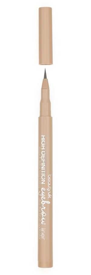 Beauty UK High Definition Eyebrow Liner, No.1 Ash Brown