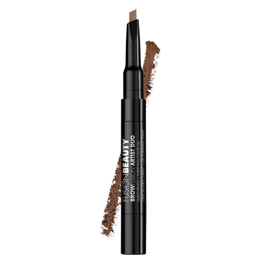 Fusion Beauty BrowFusion Artist Duo Filling Pencil + Color Gel, #Blonde (2,9 g)