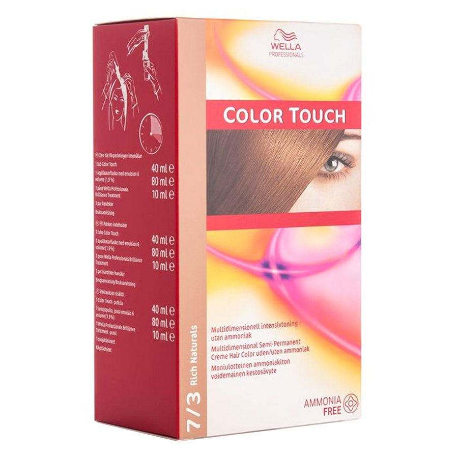 Wella Professionals Color Touch (100 ml), 7/3 Rich Naturals