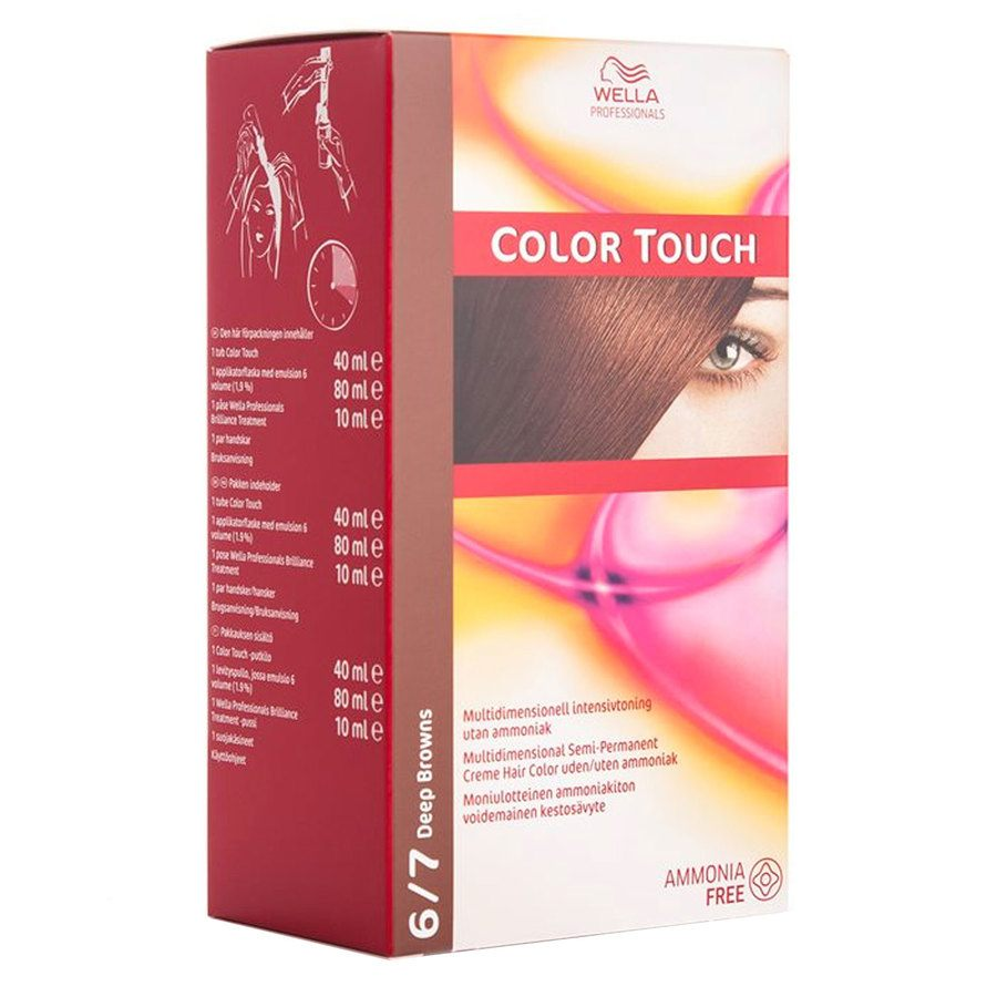 Wella Professionals Color Touch CT OTC (100 ml), 6/7 Deep Brown SCAN