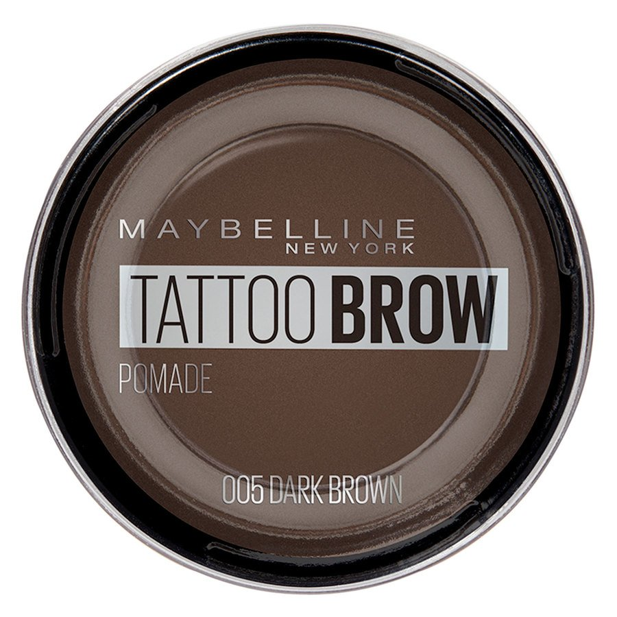Maybelline Tattoo Brow Pomade Pot, Dark Brown