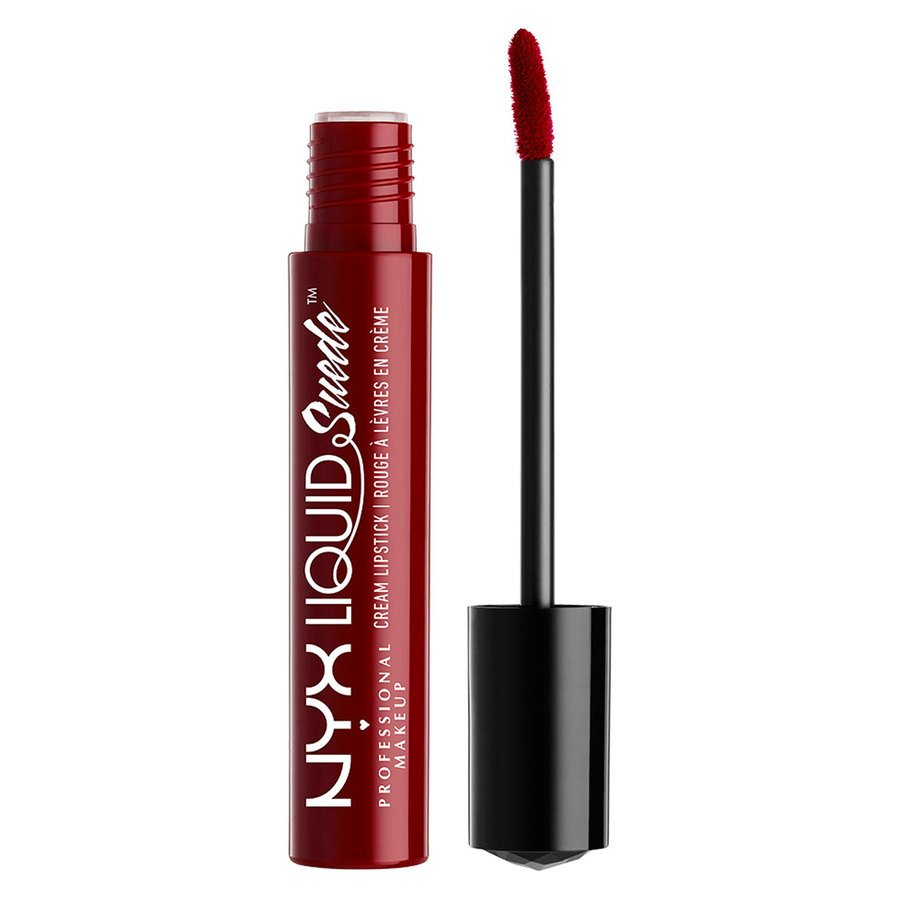 NYX Professional Makeup Liquid Suede Cream Lipstick Cherry skies