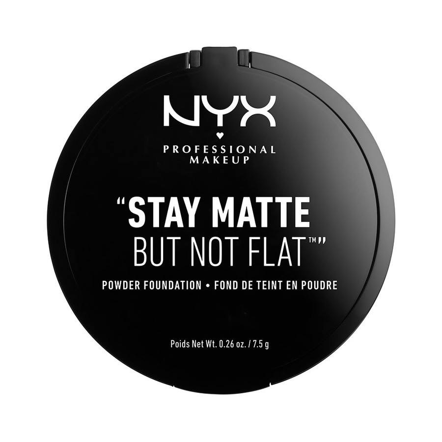 NYX Professional Makeup Stay Matte But Not Flat Powder Foundation Tan SMP09