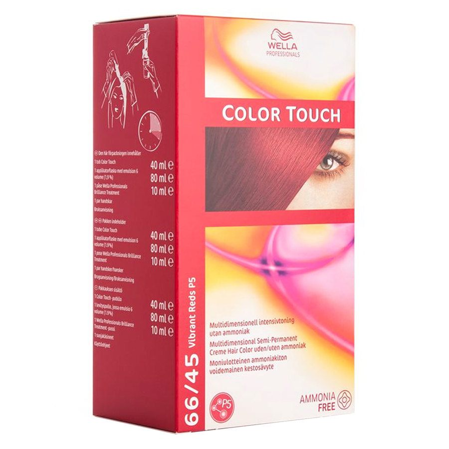Wella Professionals Color Touch (100 ml), 66/45 Vibrant Red P5 SCAN