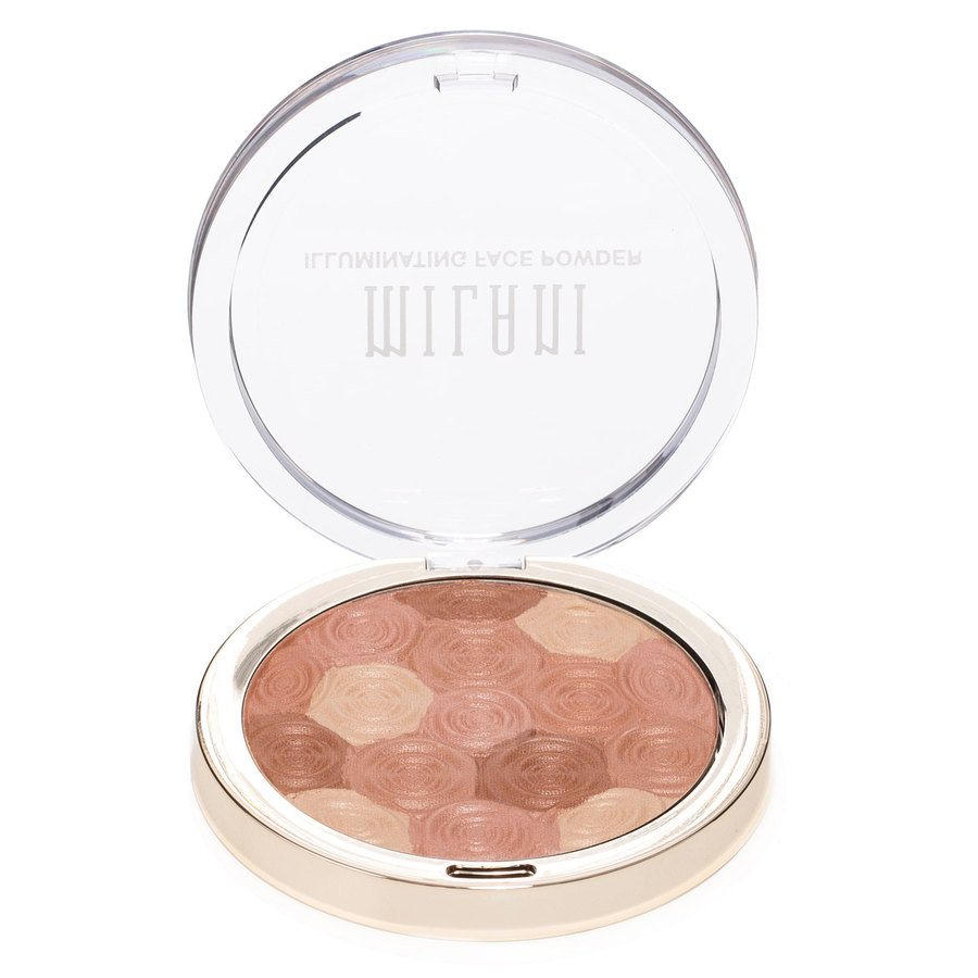 Milani Illuminating Face Powder, Hermose Rose (10 g)