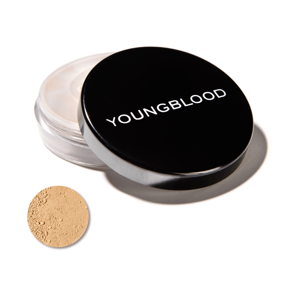 Youngblood Natural Loose Mineral Foundation, Warm Beige (10 g)