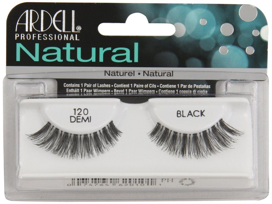 Ardell Natural Fashion Lashes, 120 Schwarz