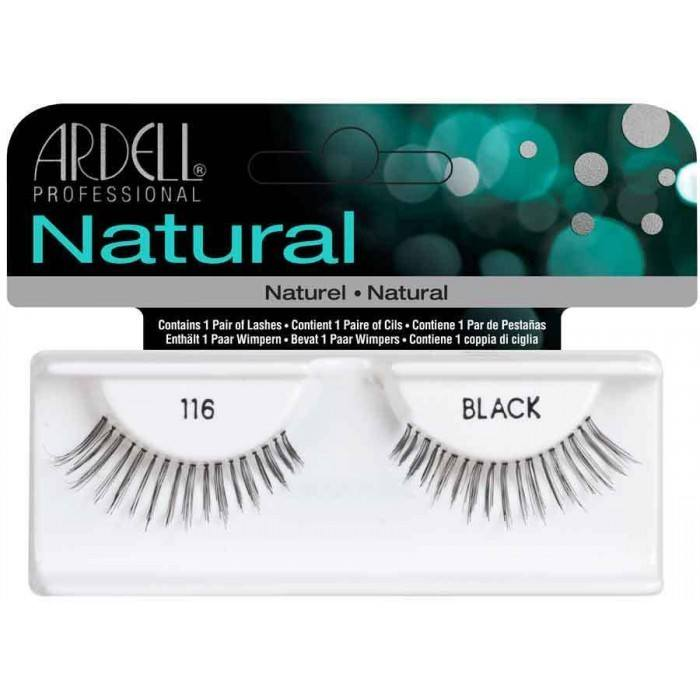 Ardell Natural Fashion Lashes, 116 Schwarz