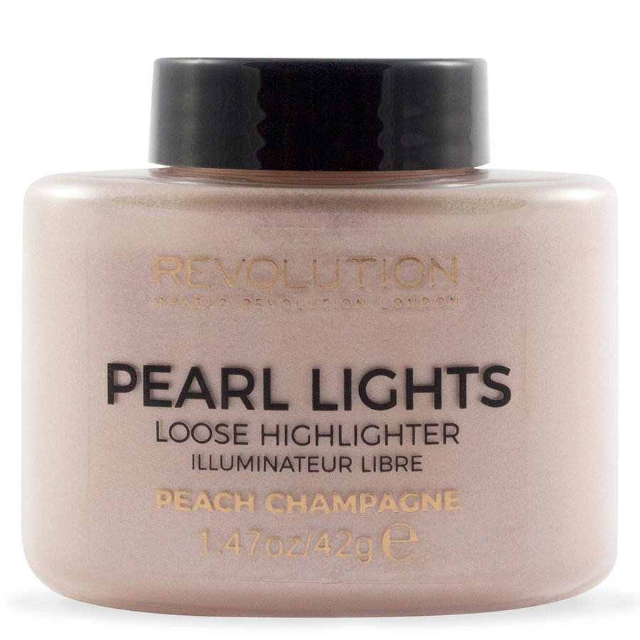 Makeup Revolution Pearl Lights Loose Highlighter Peach Champagne 25g