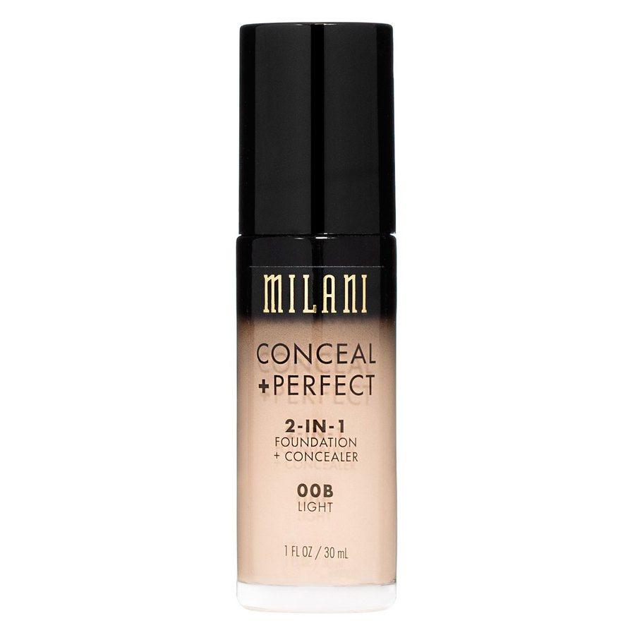Milani Conceal & Perfect 2 In 1 Foundation + Concealer, Light
