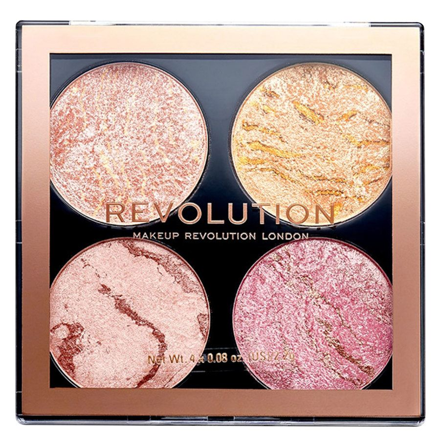 Makeup Revolution Cheek Kit Palette, Fresh Perspective (8,8 g)
