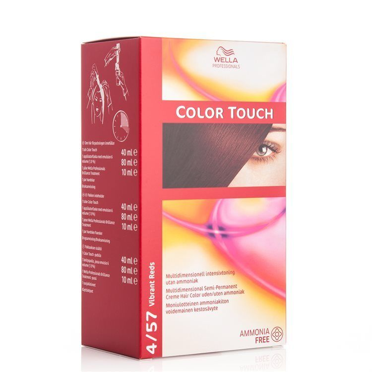 Wella Professionals Color Touch (100 ml), 4/57 Vibrant Red