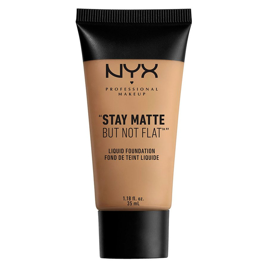 NYX Professional Makeup Stay Matte But Not Flat Liquid Foundation Caramel 35ml SMF10