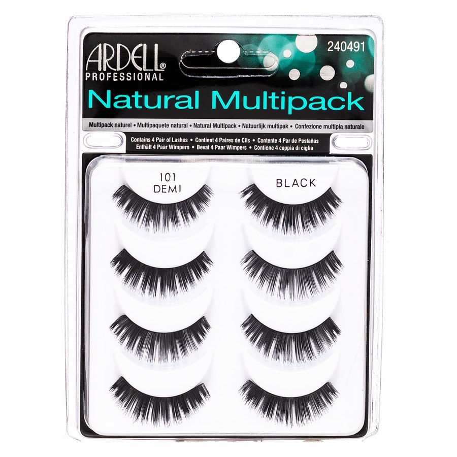 Ardell Natural Multipack, Black 101 (4 pairs)