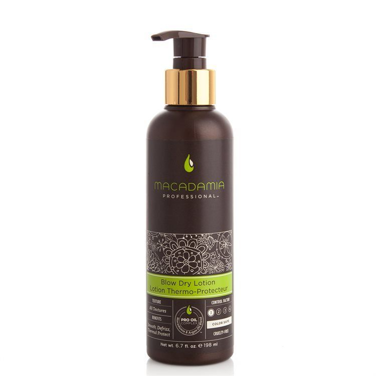 Macadamia Natural Oil Blow Dry Lotion (198 ml)