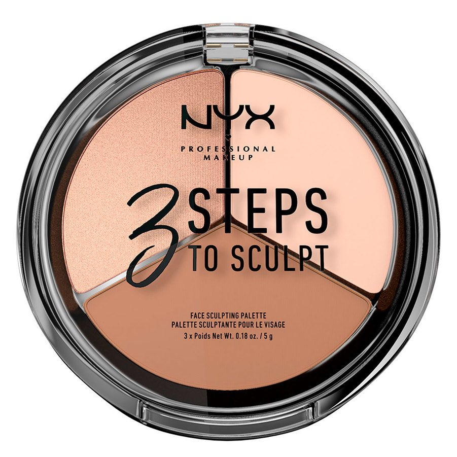 NYX Professional Makeup 3 Steps To Sculpt Fair 5g