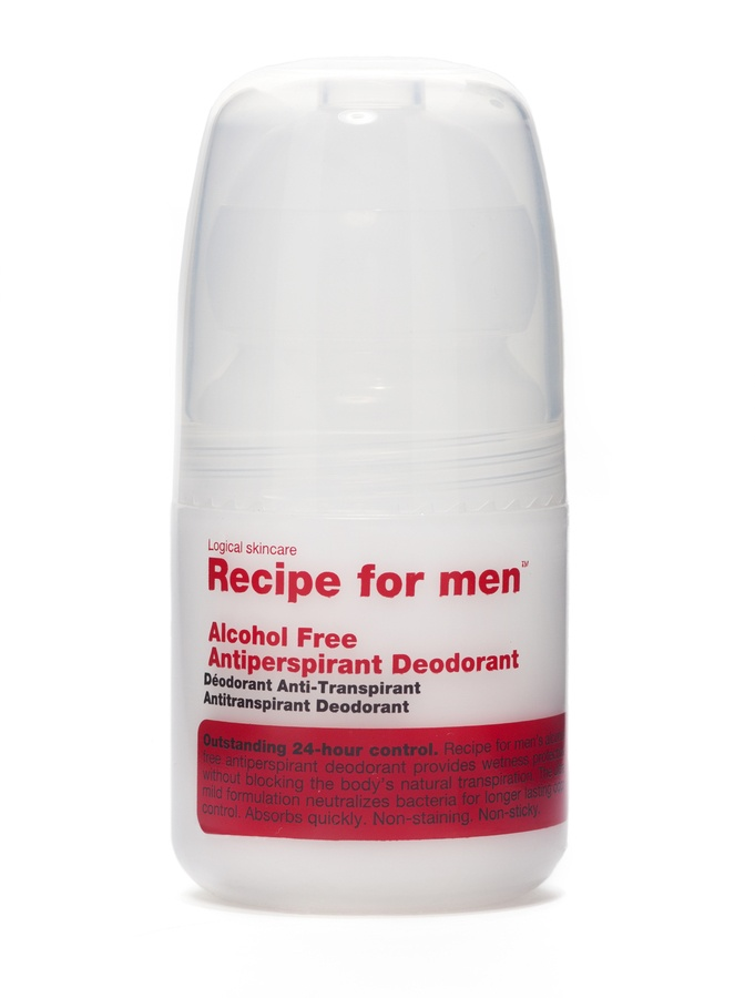 Recipe For Men Alcohol Free Antiperspirant Deodorant (60 ml)