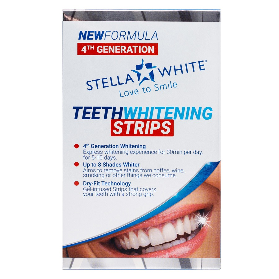 Stella White Teeth Whitening Strips (10 x 2)