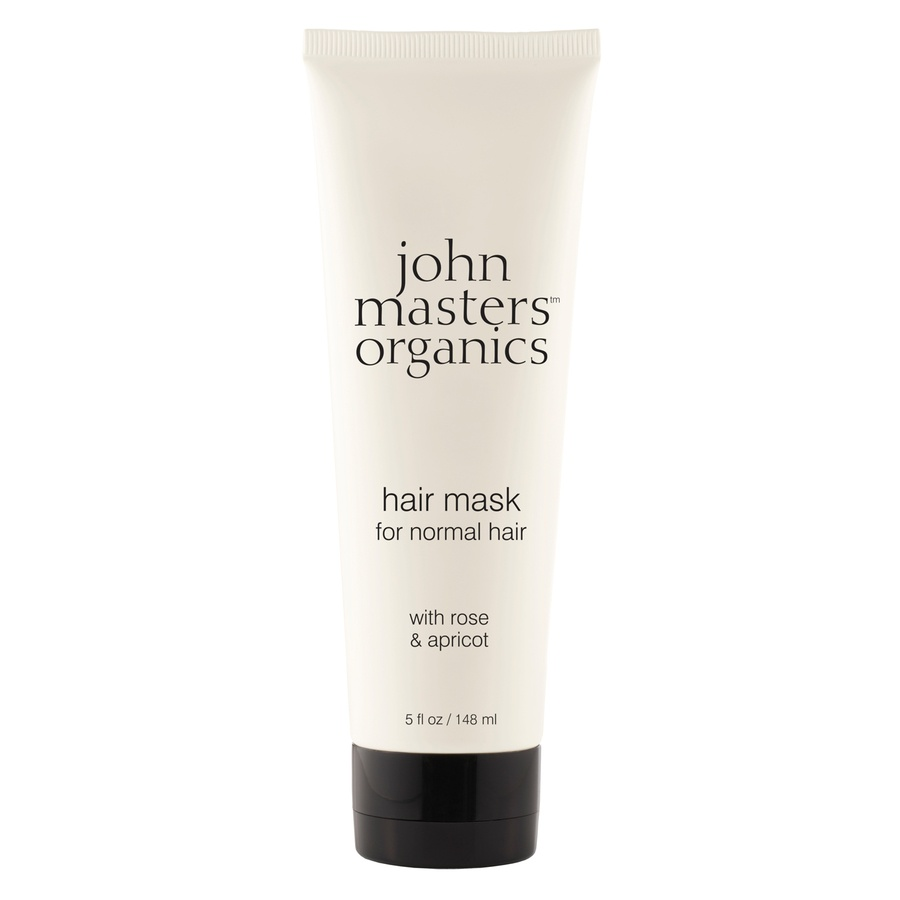 John Masters Organics Hair Mask For Normal Hair With Rose And Apricot (148 ml)