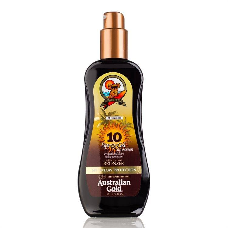 Australian Gold SPF 10 Spray Gel Bronzer (237 ml)
