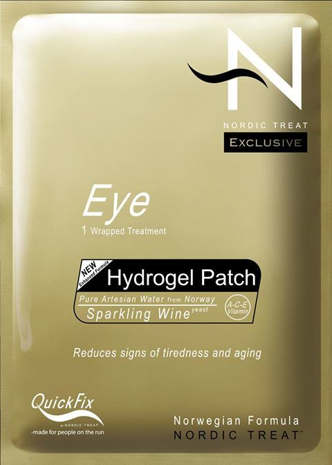 Nordic Treat Hydro Gel Eye Patch Treatment Augenpatch