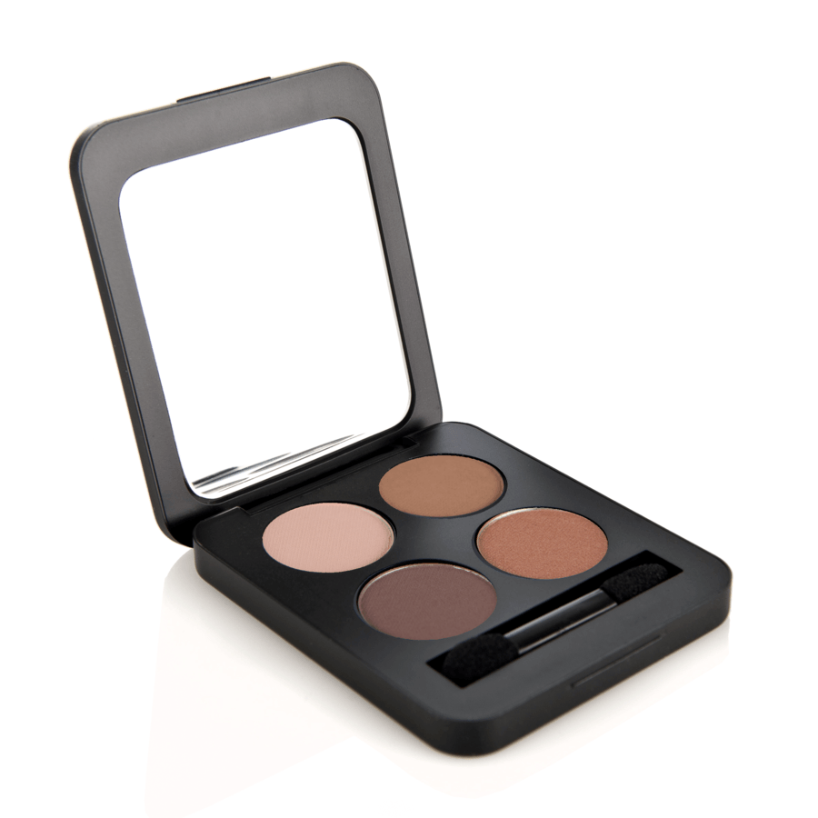 Youngblood Pressed Mineral Eyeshadow Quad (4 g), Timeless