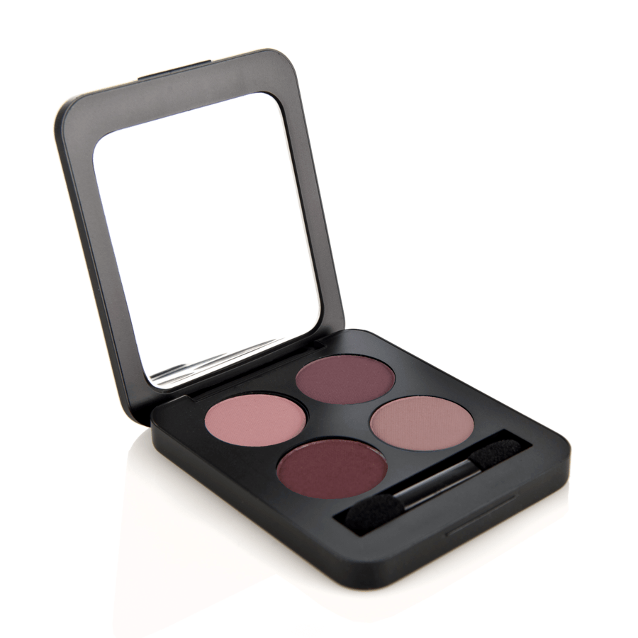 Youngblood Pressed Mineral Eyeshadow Quad (4 g), Vintage