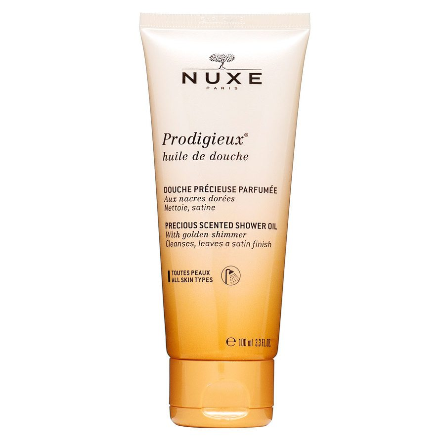 NUXE Prodigieux Precious Scented Shower Oil Golden Shimmer (100 ml)