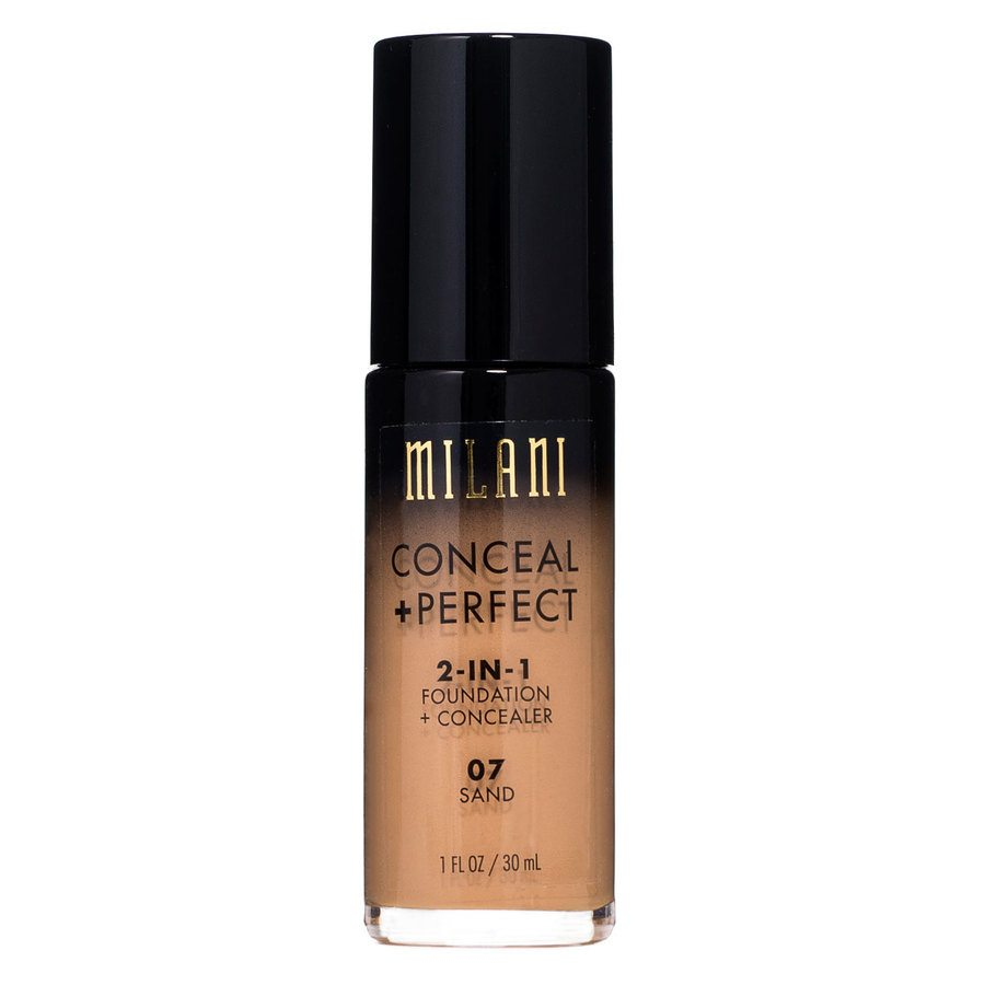 Milani Conceal & Perfect 2-In-1 Foundation + Concealer, Sand (30 ml)
