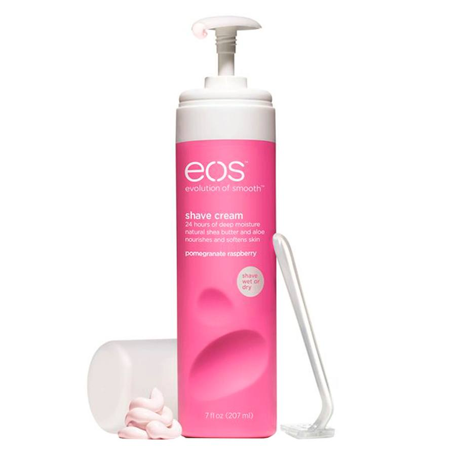 EOS Evolution Of Smooth Ultra Moisturizing Shave Cream, Pomegranate Raspberry (207 ml)